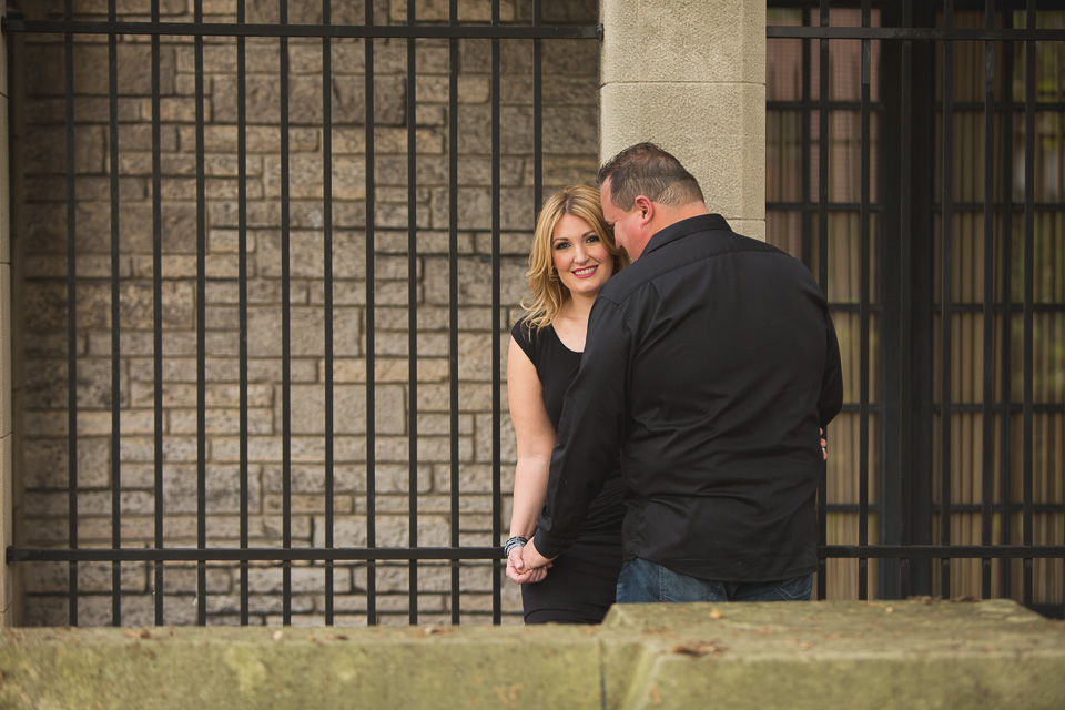 couple engagement at willistead manor windsor