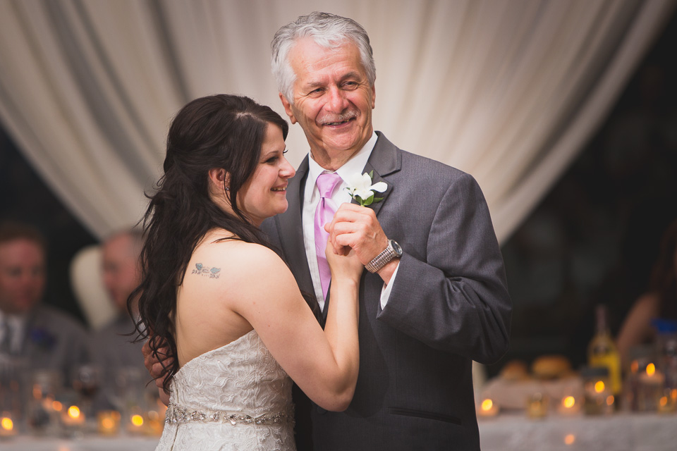father and daughter dance at chatham wedding