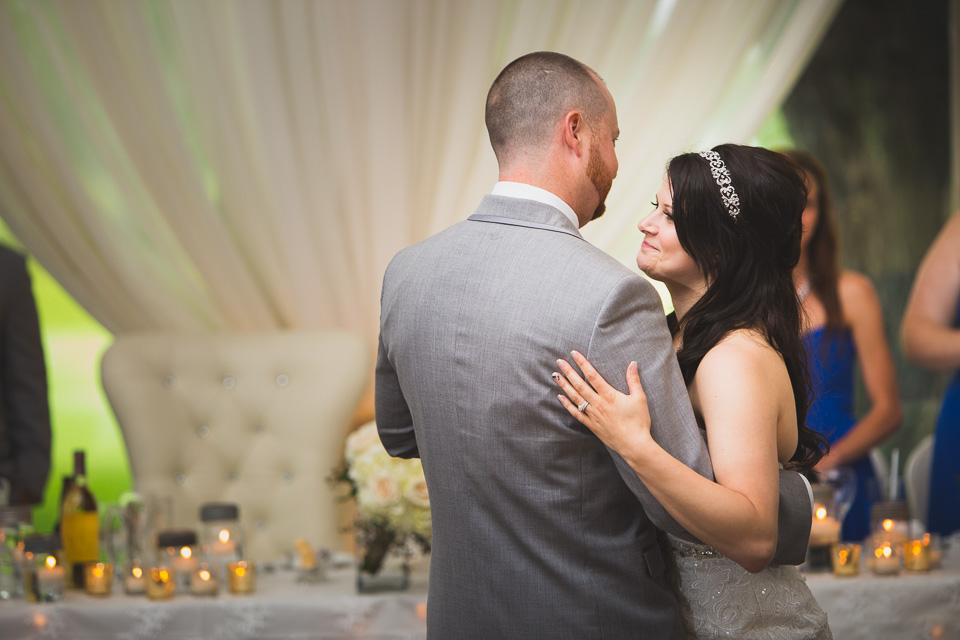 bride and grooms first dance wedding photography
