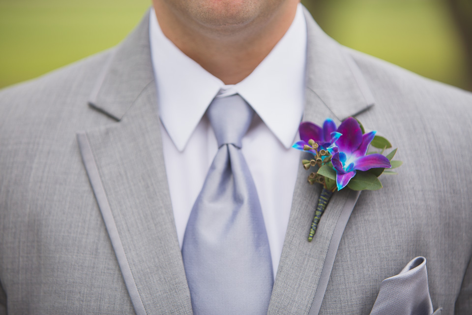 groomsman boutonniere for chatham wedding