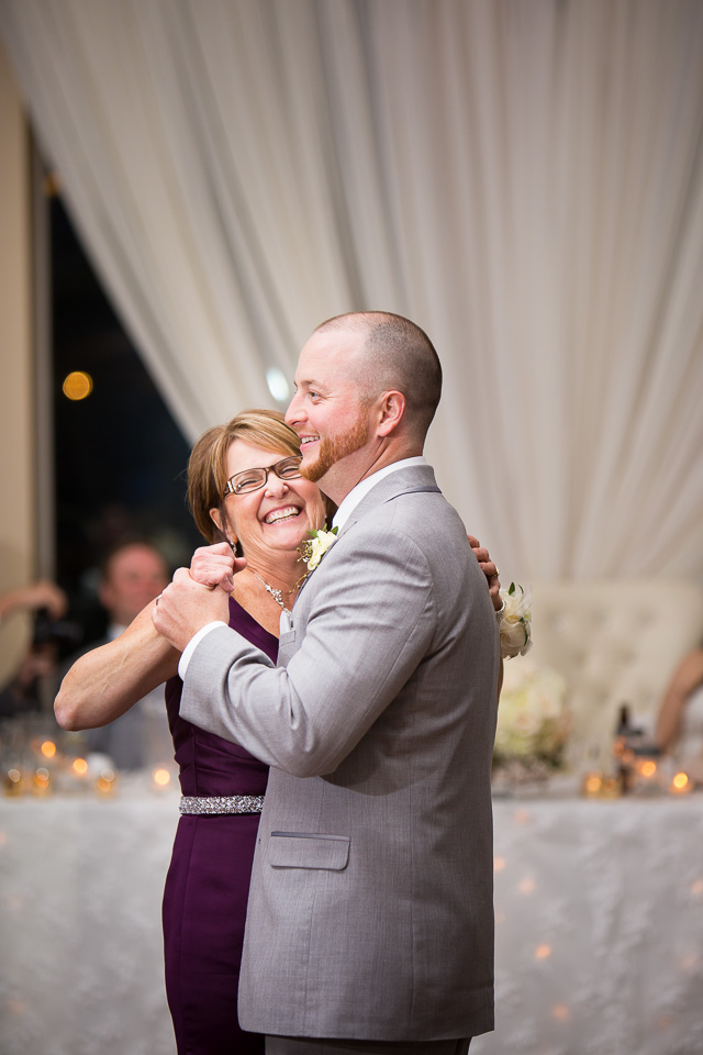 chatham wedding mother and son dance