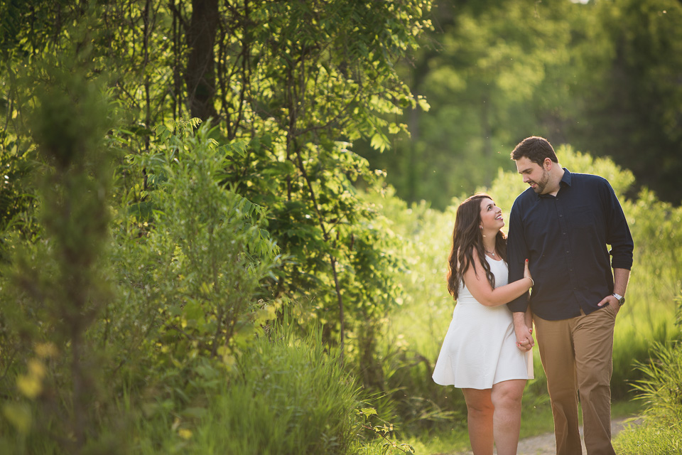 engagement photography at point pelee