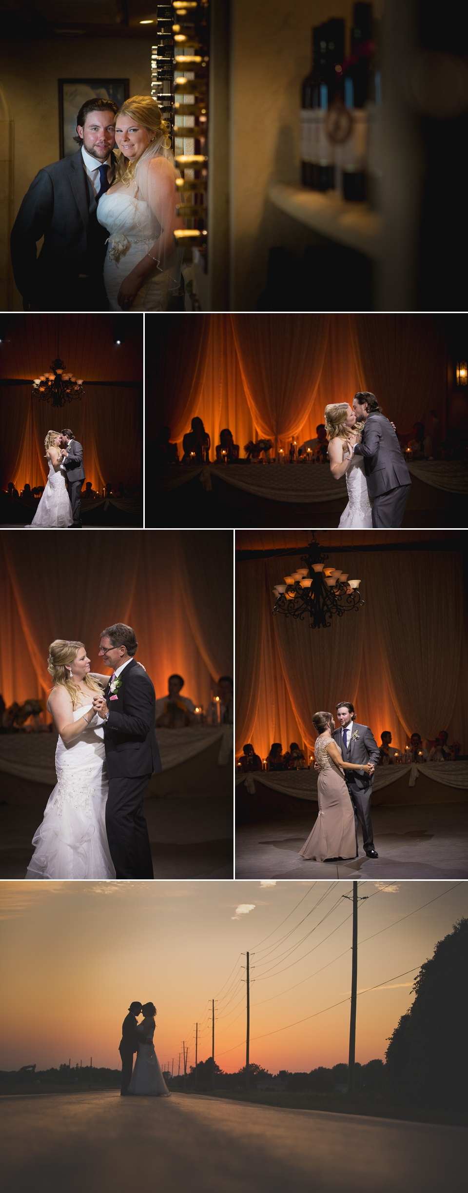 first dances at mastronardi estate winery