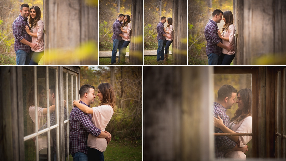 Leamington engagement photography at point pelee national park