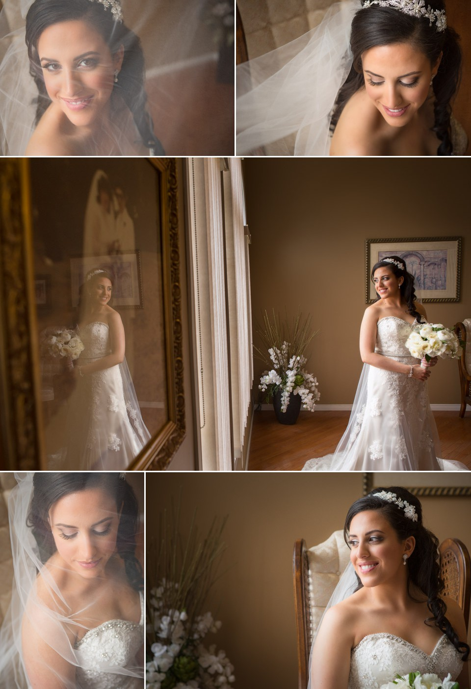 bridal portrait leamington wedding photography