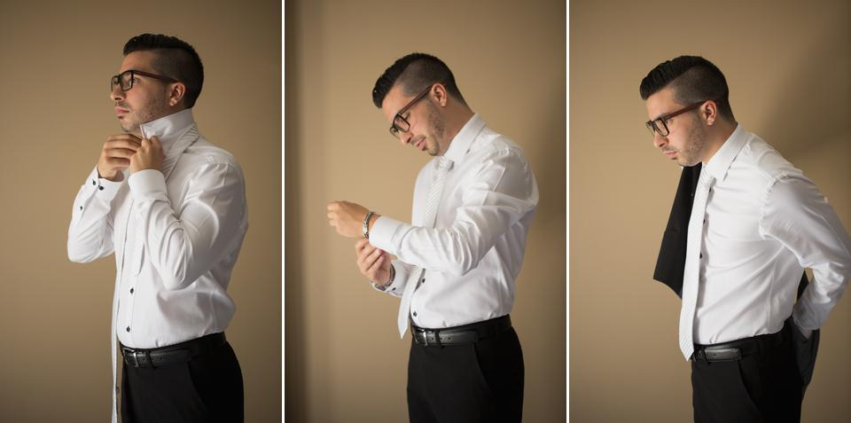 groom getting ready leamington wedding photographer