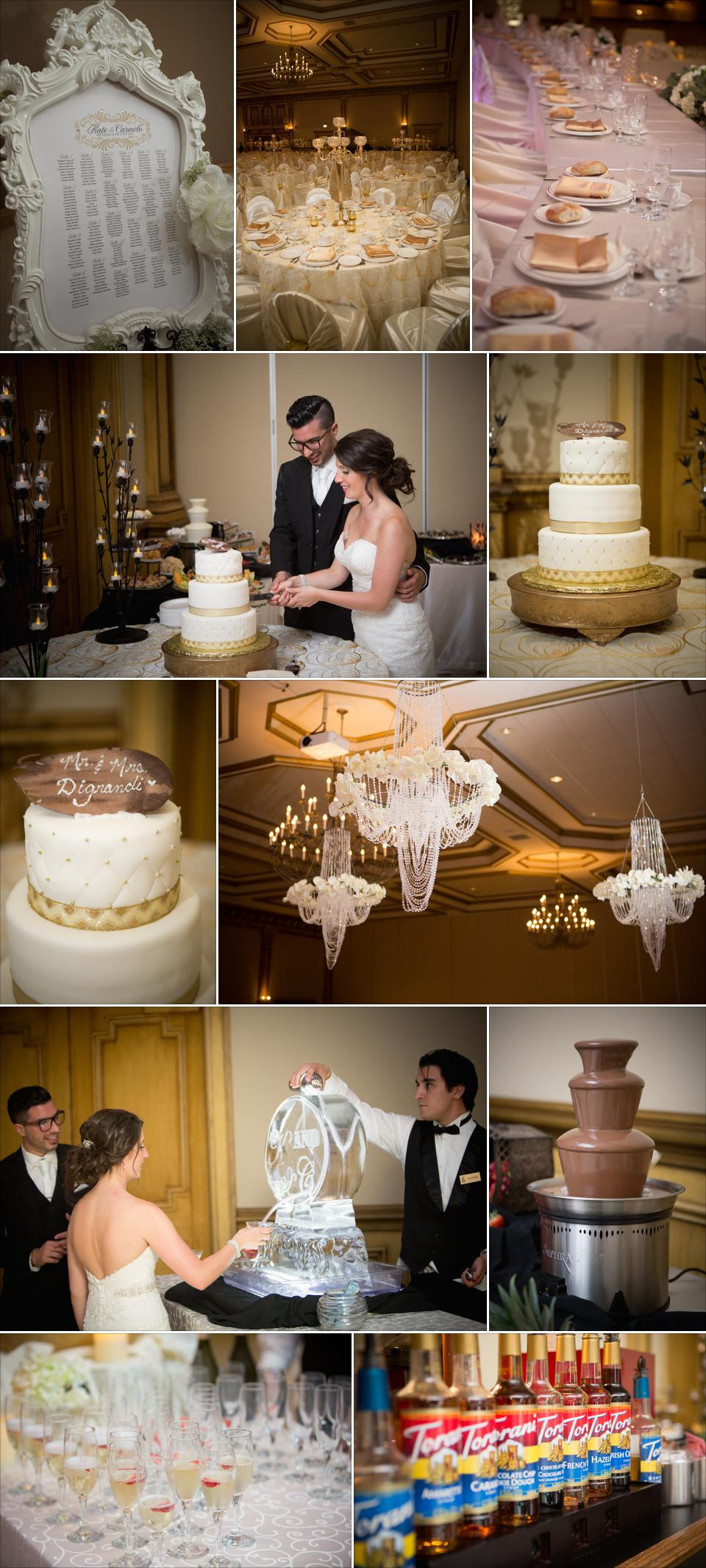 reception details ciociaro club windosr wedding photographer