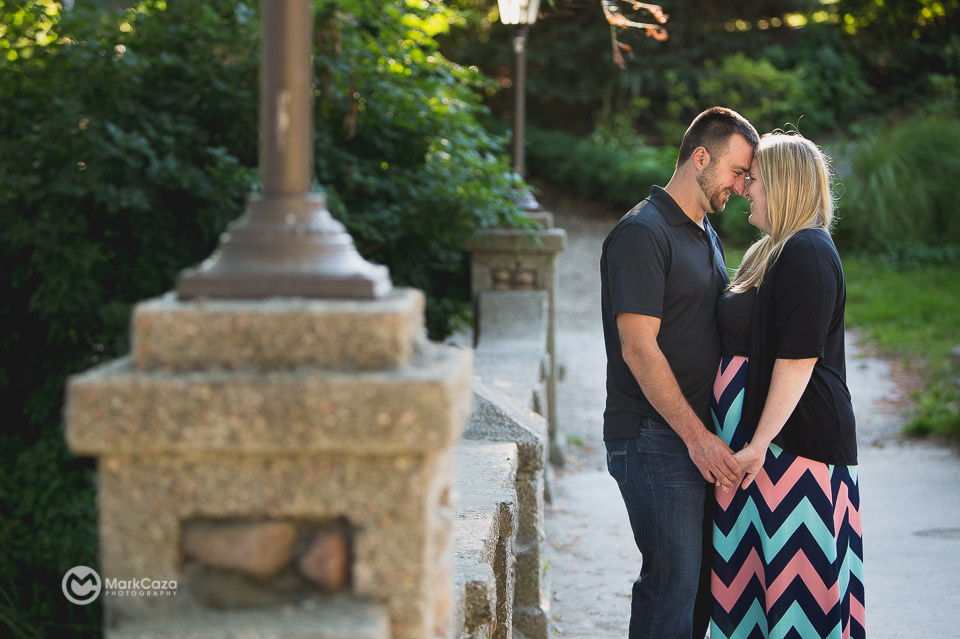 lakeside park bridge kingsville engagement photography