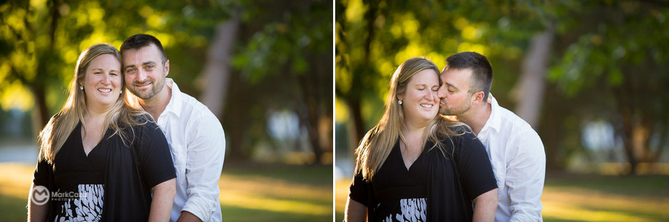 lakeside park kingsville engagement photography