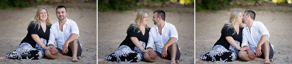 laskeside park beach engagement photography