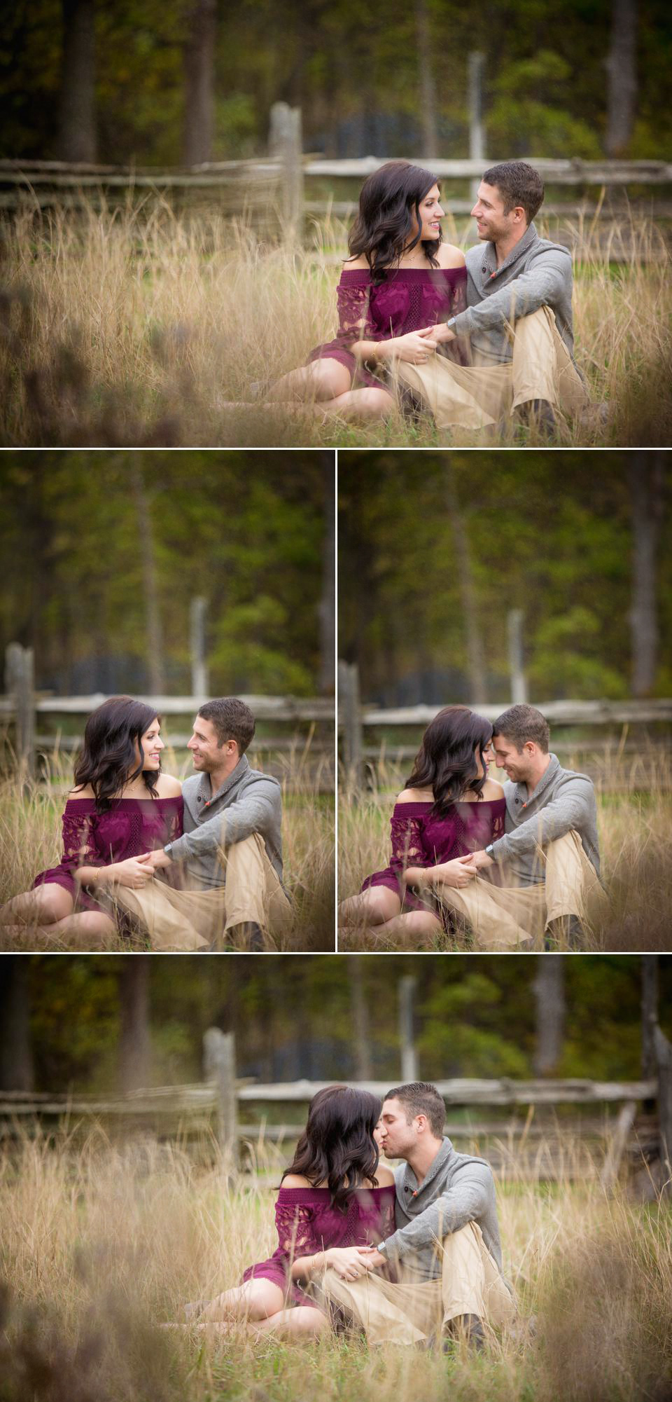 leamington engagement session point pelee natioanl park Windsor wedding photographe